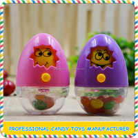 Popular easter plastic egg toys from China manufacturer