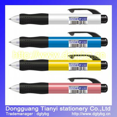 Ball pen plastic ball pen polymer clay ball pen
