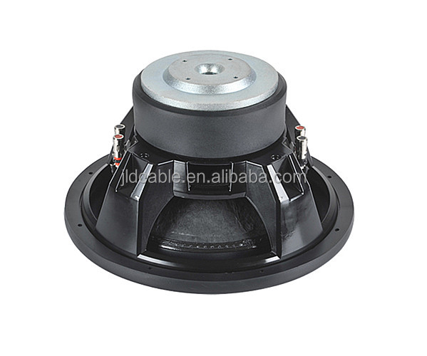 Dual 2 ohm Woofer 12 inch car subwoofer 450W rms and new die-cast frame