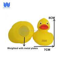 Float Upright Numbered Duck Rubber Weighted