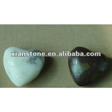 black heart shape wholesale worry stones for sale