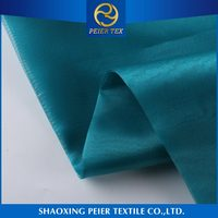 Factory direct design anti static smooth shaoxing fleece polyester crystal textil fabric