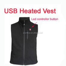 5V USB power bank battery waterproof heated vest