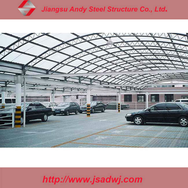 prefab galvanized steel parking structure