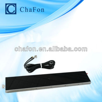 UHF 5dbi vertical antenna made by UV and ABS material mainly used for marathon management