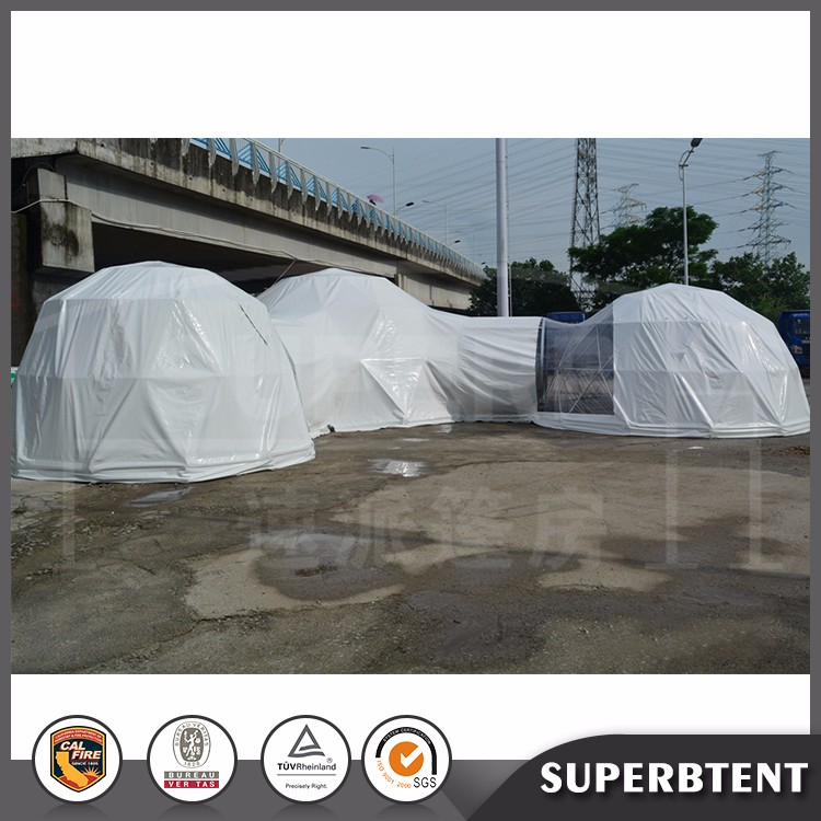 Outdoor sports waterproof 8m geodesic dome