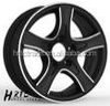 HRTC Polished lip alloy wheel rims for car 13 inch