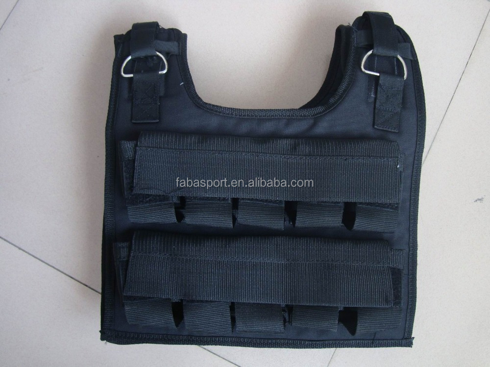 Factory price Weight vest with stack,20kg