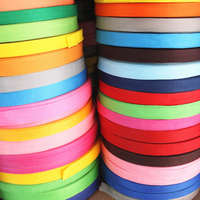 Stock 20mm 25mm 38mm 50mm colored custom polypropylene PP webbing strap for bags