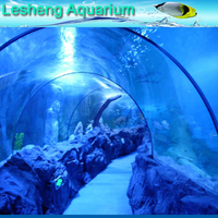 indoor plastic sea aquarium fish tank