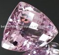 20.05 Ct Trillion Checker Cut Natural Flawless Rare Bolivian Amethyst Gemstone