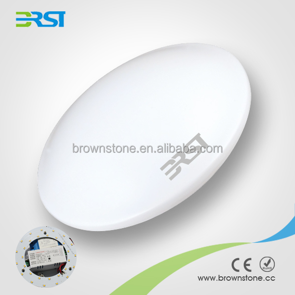 Modern simple design PC cover 7W led ceiling lamp with 3 years warranty