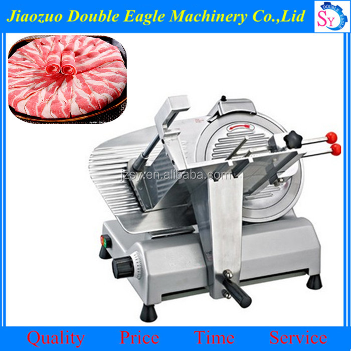 10 inch automatic meat cutting machine/desktop mutton beef slices/planing machine cutting frozen meat