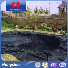 Smooth Hdpe Geomembrane Used As Fish Pond Materials