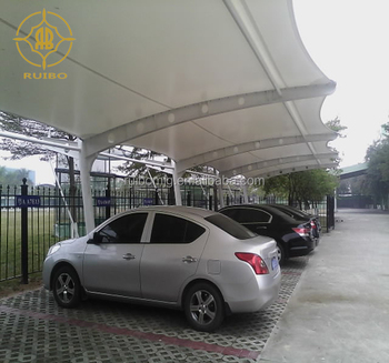 Polycarbonate car garage tents/car parking shade/car parking shed