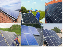 10kw 20kw free shipping solar panel kits for home grid system with TUV UL CE warranty 30kw 50kw