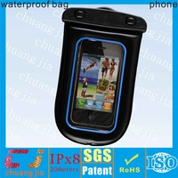 New arrival waterproof bags phone cases with IPX8 certificate