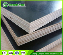 Hot sale finger joint core 3-5 times reused 18 black film faced plywood