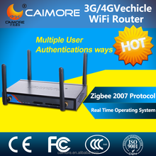 CM520-8VF CE approval 3g hspa+ wireless bus wifi router with dual sim card
