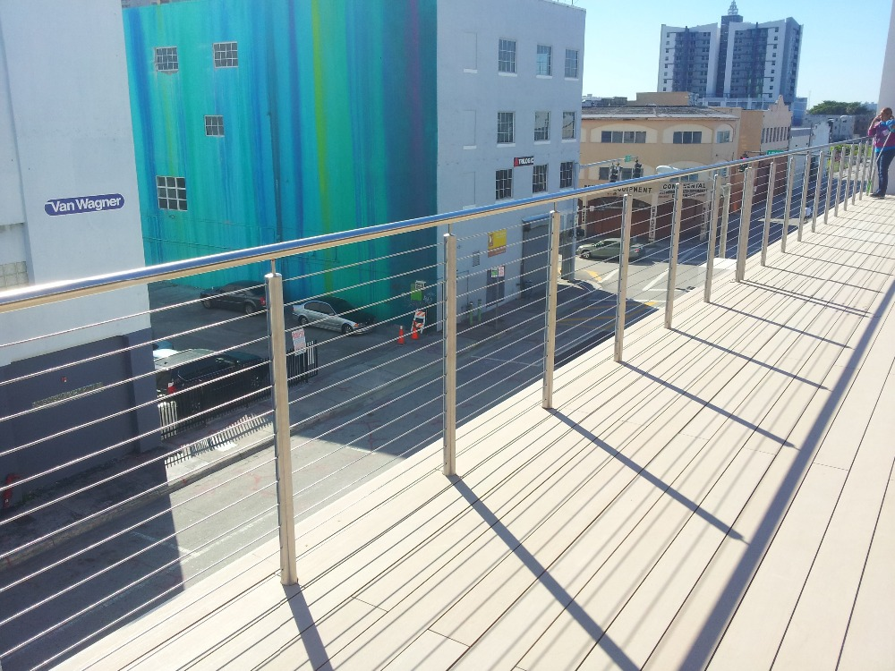 exterior decking stainless steel wire rope railings price