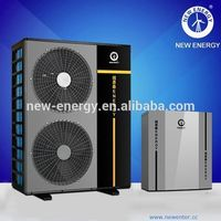 chiller machine 13kw evi heat pump air to water cop free standing split type air conditioner