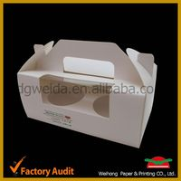 free sample cake box,oem custom cupcake cases
