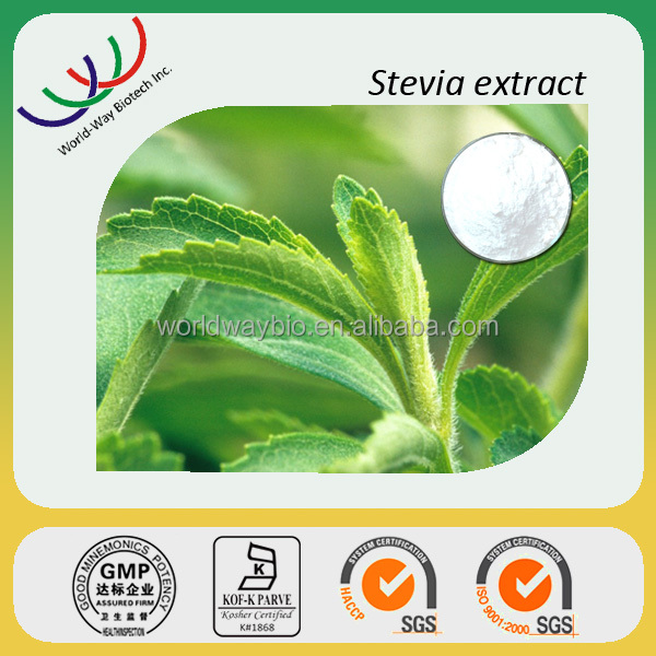 GMP factory supply 100% natural stevia in malaysia,free sample for trial food additive 98% rebaudioside A stevia sweeteners