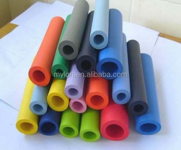 texture eva foam tube/eva foam grip/eva foam handle