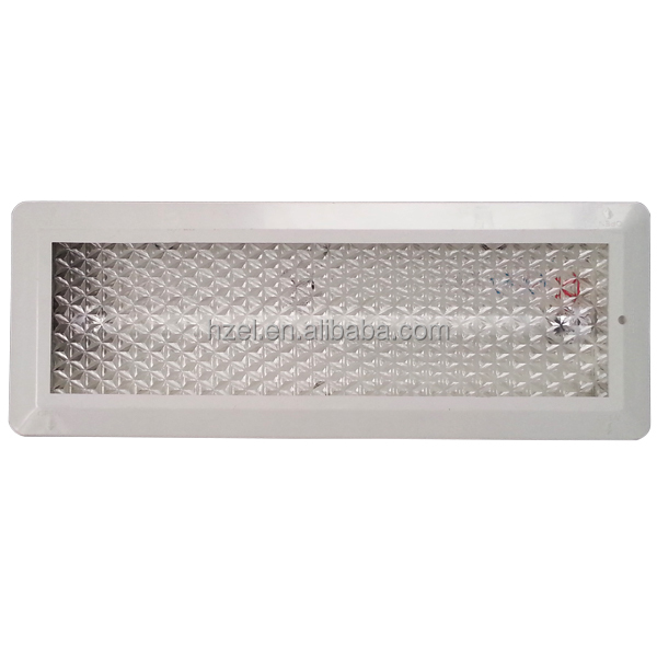 3 Hour Operation Fluorescent Emergency Light For Wall/Ceiling Recessed Mounted