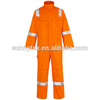 100%cotton fire retardant coverall with reflective tape/ safety workwear