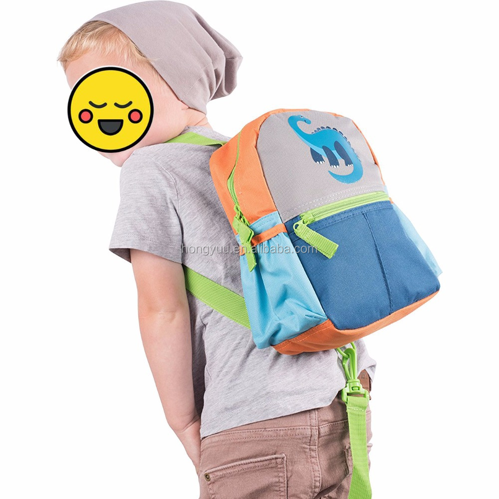 Children / Kids kindergarten Cute Backpack With Safety Harness