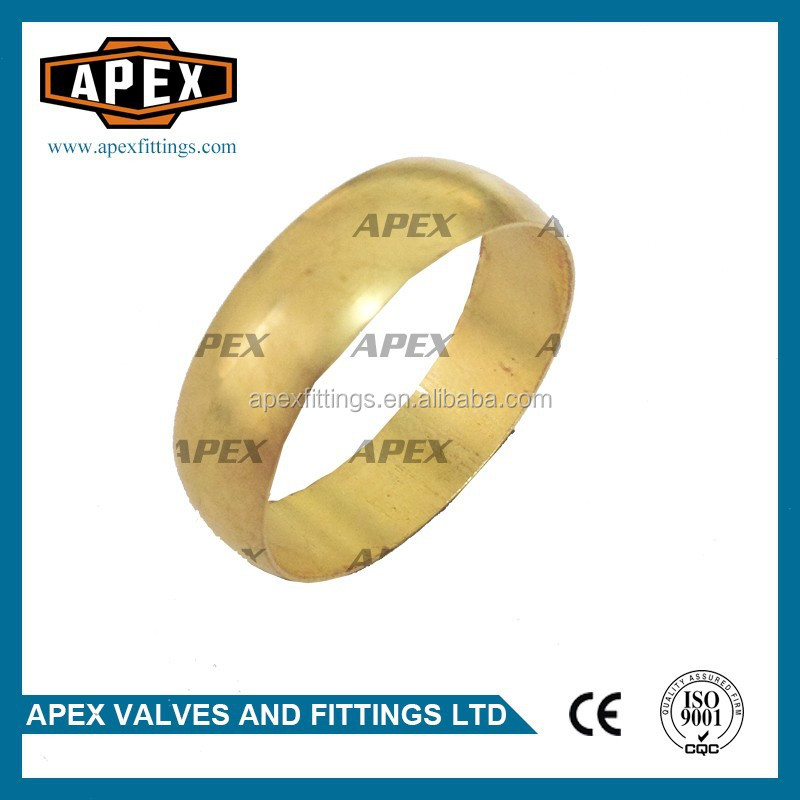 APEX Brass Compression Ring Fitting