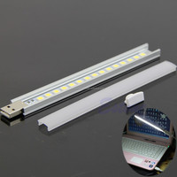 Portable USB LED tube light for PC Desktop Laptop Notebook Reading light 5V usb led bar light Mini USB LED bar lamp