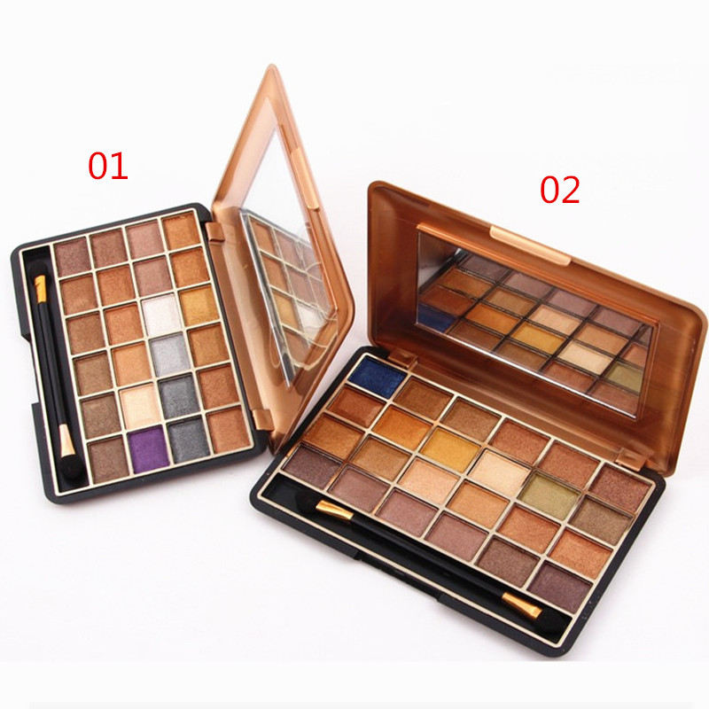 Professional Cosmetics Eye Makeup 24 Color Natural Shimmer Eyeshadow Palette Nude Eye Shadow Make Up Set
