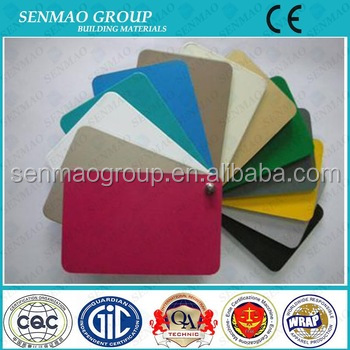 Internal wall decoration cladding acp sheet aluminum coated plastic sheet prices pe aluminum composite panel