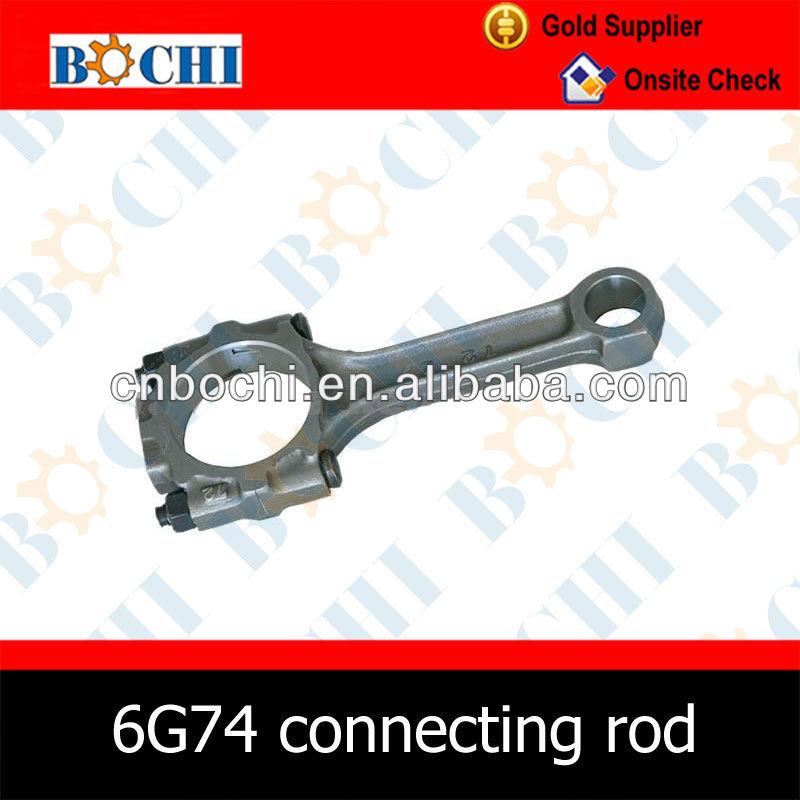 6G74 Automobiles Crank Mechanism Connecting Rod OE MD173800