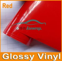 Multi color car wrap vinyl car wrapping film, Glossy vinyl for car/motocycle/boat, Orange Glossy car wrapping vinyl film
