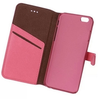 Good quality professional card leather case for iphone6 wallet