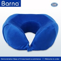 Perfect Support Comfort Memory Foam Travel Neck Pillow Luxury U-Shaped Folding Neck Support Pillow