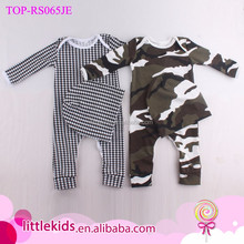 Autumn Baby Clothes Romper One Piece Cotton Long Sleeve Long Pants Baby Romper Matching Caps