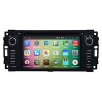 "OEM A9 Quad core Pure Android 5.1.1 HD 800*480 16GB Mirror-Link 6.2"" Car DVD Player GPS Stereo Radio For Jeep Commander"