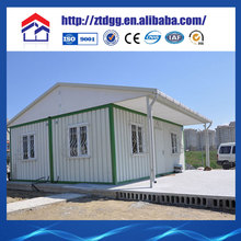 Fast assembly steel prefab tent house from China manufacturer