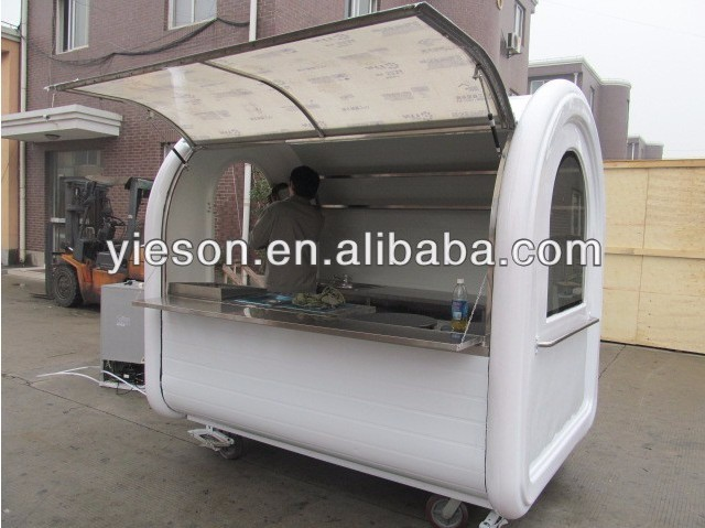 YS-HO350 coffee truck fast food mobile kitchen trailer