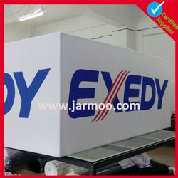 Light aluminum frame and flex polyester fabric Display Banner Hanging System