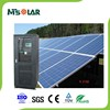 Outdoor DC AC output solar power plant