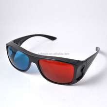 good selling plastic acrylic lens red blue/Cyan anaglyphic 3d glasses