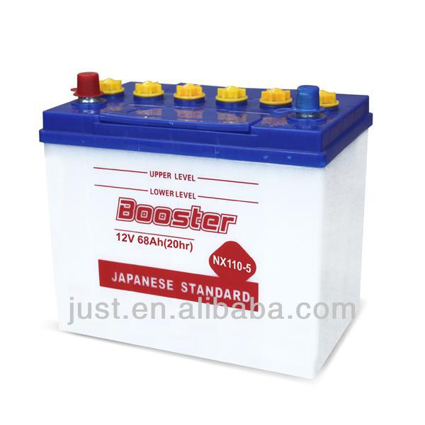 Super Start Automotive Battery 80D26L 12V70Ah Plant Best Selling