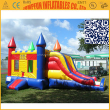 Combo Bounce House/Inflatable water slide castle