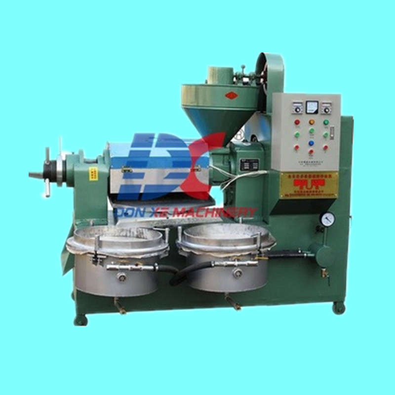 6YL-160 Hemp seeds combined automatic oil press machine
