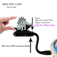 Decor Lava 3D Dinosaur Jurassic Park Tegosaurus Dragon LED Mini Flexible USB for laptop Mood Night Light Kids Holiday Gift
